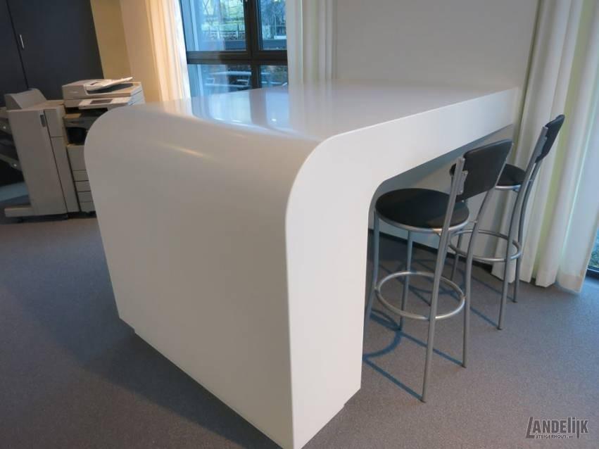 Tafel Op Maat Gemaakt Voor Inrichting Showroom Canon Business Center Breda