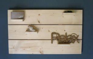 Steigerhouten Wanddecoratiebord
