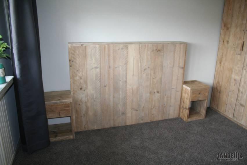 Slaapkamer Van Gebruikt Steigerhout