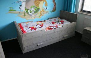 Steigerhouten Kinderbed