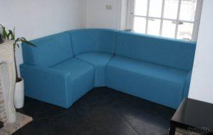 Gestoffeerde Loungebank Op Maat Gemaakt