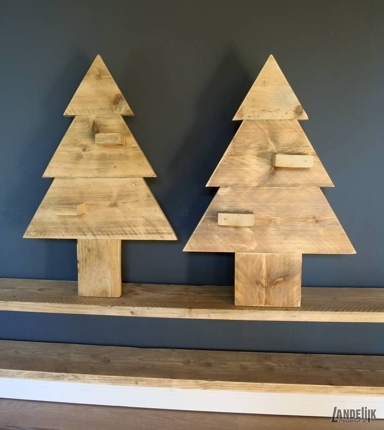 Steigerhouten Kerstboom