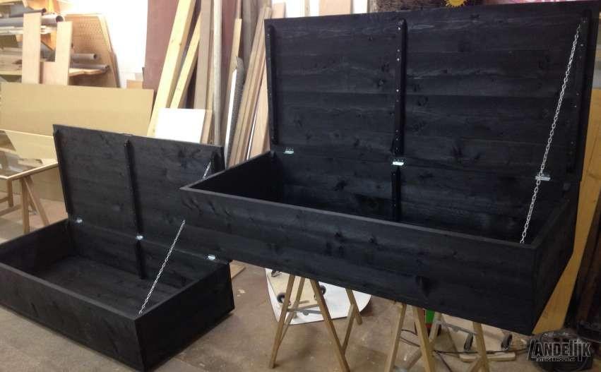 Steigerhouten Kisten