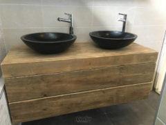 Wastafelmeubel, Spiegelkast En Toilet Fontein Kast